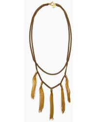 Lena Bernard - Gigi Necklace - Gold - Lyst