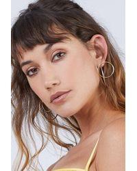 Soko Jewelry - Maxi Globe Jackets Earrings - Brass - Lyst