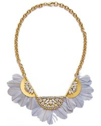 Sandy Hyun - Feather Necklace - Lyst