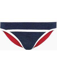 Duskii - Monte Carlo Moderate Bikini Bottom - Indigo/white - Lyst