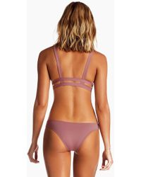 Vitamin A - Neutra Side Cut Out Bottom - Dusty Rose Pink - Lyst