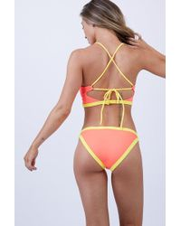 Peixoto - Micky Full Bikini Bottom - Mai Tai - Lyst