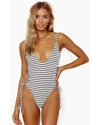 528731b19ad990 Blue Life Bamboo Strapless One-piece Swimsuit - Lyst