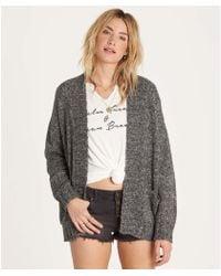 Billabong - Luna Day Cardi Sweater - Lyst