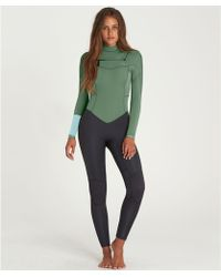 Billabong - 3/2 Synergy Chest Zip Fullsuit - Lyst