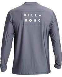 Billabong - Die Cut Loose Fit Long Sleeve Rashguard - Lyst