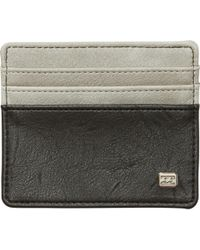 Billabong - Dimension Card Holder Wallet - Lyst