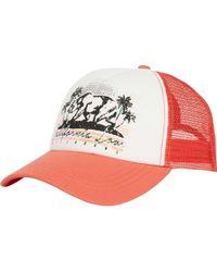 Billabong - Retro Bear Trucker Hat - Lyst