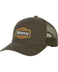 95639fc16db49 Lyst - Billabong Walled Trucker Hat in Gray for Men
