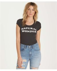 Billabong - Natural Wonder Tee - Lyst