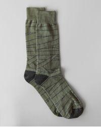 Billy Reid - Birchline Dress Sock - Lyst