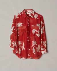 Billy Reid | Pelican Cargo Shirt | Lyst