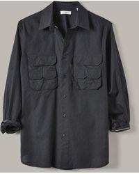 Billy Reid - Selvedge Fisherman Shirt - Lyst