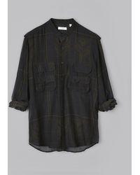 Billy Reid - Flw Fisherman Shirt - Lyst