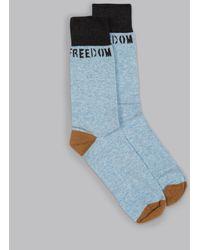 Billy Reid - Freedom Fried Sock - Lyst