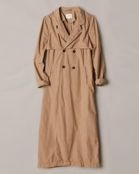 Billy Reid - Double Breasted Trench - Lyst