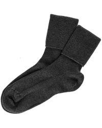 Black.co.uk | Ladies' Black Cashmere Socks | Lyst