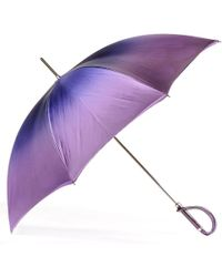 Black.co.uk - Violet To Wisteria Luxury Double Canopy Umbrella - Lyst