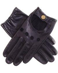 Black.co.uk - Men's Black Leather Driving Gloves - Lyst