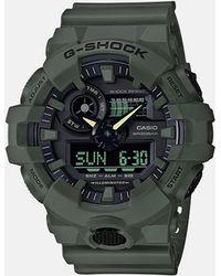 G-Shock - Men's Analog-digital Green Resin Strap Watch 53mm - Lyst