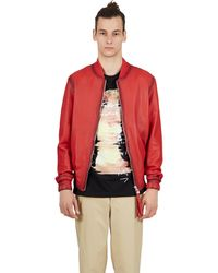 Blood Brother | Guard Bomber In Red | Lyst