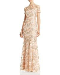 Decode 1.8 - Floral Embellished Gown - Lyst