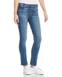 PAIGE - Hoxton Ankle Peg Skinny Jeans In Salida - Lyst