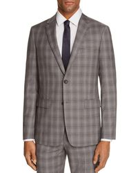 Theory - Wellar Tonal Check Plaid Slim Fit Suit Jacket - Lyst