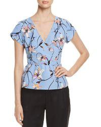 Vero Moda - Cannes Floral-print Top - Lyst
