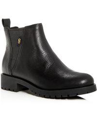 Cole Haan - Women's Calandra Leather Booties - Lyst