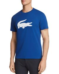 Lacoste - Rubber Crocodile Short Sleeve Tee - Lyst
