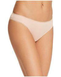 On Gossamer - Cabana Stretch Cotton Bikini - Lyst