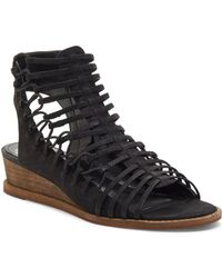 Vince Camuto Women's Romera Nubuck Leather Strappy Sandals
