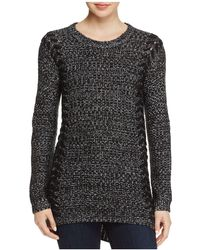PPLA - Lace Up Detail Jumper - Lyst