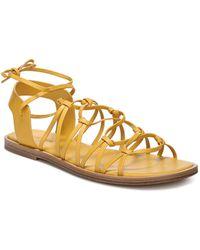 Vince - Women's Palmera Leather Lace Up Sandals - Lyst