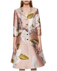 Ted Baker - Ottie Chatsworth Bloom Dress Coat - Lyst