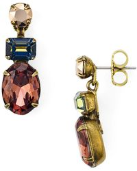 Sorrelli - Drop Post Earrings - Lyst