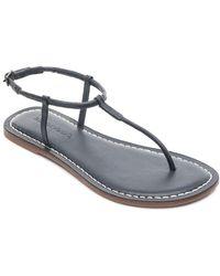 Bernardo - Lilly T-strap Thong Sandals - Lyst