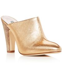 SJP by Sarah Jessica Parker - Women's Rigby Leather High-heel Mules - Lyst