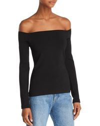 Elizabeth and James - Raylen Off-the-shoulder Knit Top - Lyst