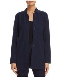 Eileen Fisher | Stand Collar Jacket | Lyst