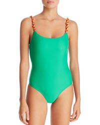 a169dcfb7c80 Lyst - Women s Paper London Monokinis and one-piece swimsuits On Sale