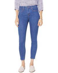 NYDJ - Petites Ami Skinny Ankle Jeans In Batik Blue - Lyst