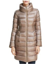 Herno - Funnel Neck Down Coat - Lyst