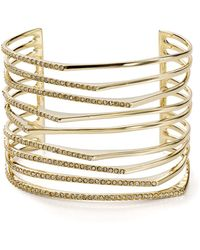 Alexis Bittar - Golden Sharp Cuff - Lyst