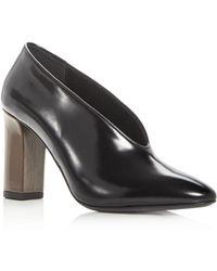 Via Spiga - Women's Baran Leather Court Shoes - Lyst