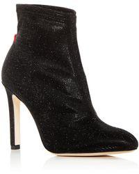 SJP by Sarah Jessica Parker - Women's Apthorp Shimmer High-heel Booties - Lyst