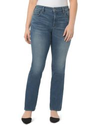NYDJ - Marilyn Straight Jeans In Noma - Lyst
