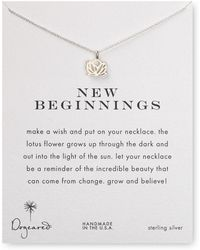 Dogeared - New Beginnings Pendant Necklace - Lyst
