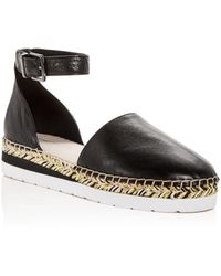 Kenneth Cole - Women's Babbot Leather D'orsay Espadrille Platform Sandals - Lyst